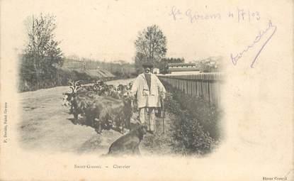 "CPA  FRANCE 09 ""Saint Girons, chevrier"""