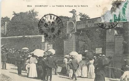 """/ CPA FRANCE 94 """"Champigny, le théâtre antique de la nature"""""""