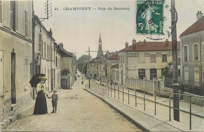 """/ CPA FRANCE 94 """"Champigny, rue de Bonnau"""""""