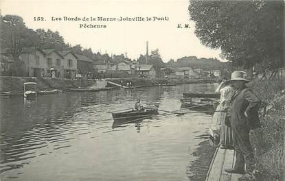 """/ CPA FRANCE 94 """"Joinville Le Pont"""" / PÊCHEUR"""