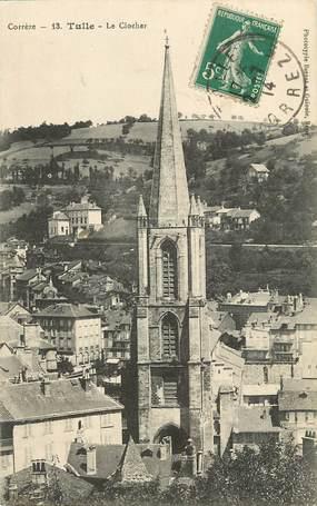 """CPA FRANCE 19 """"Tulle, le clocher de l'Eglise"""""""