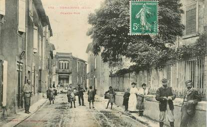 "CPA  FRANCE 11 ""Ornaisons, la grande rue"""