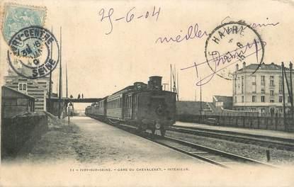"""/ CPA FRANCE 94 """"Ivry sur Seine, gare du Chevaleret"""""""