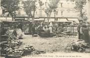 """11 Aude CPA  FRANCE 11 """"Carcassonne, un coin du marché aux Herbes"""""""