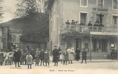 "CPA  FRANCE  11 ""Alet, Hotel des Postes"""