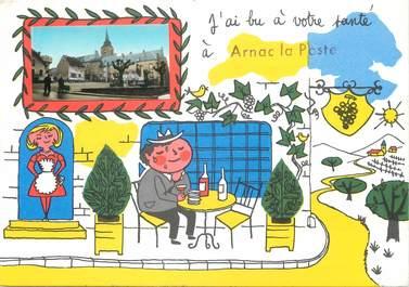 """/ CPSM FRANCE 87 """"Arnac la poste """""""