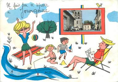 """/ CPSM FRANCE 87 """"Jourgnac"""""""