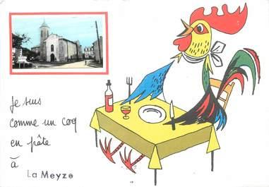 "/ CPSM FRANCE 87 ""La Meyze"""
