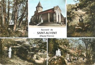 """/ CPSM FRANCE 87 """"Souvenir de Saint Auvent"""""""