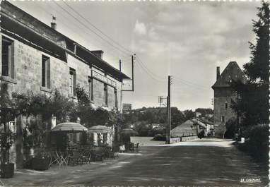 """/ CPSM FRANCE 87 """"Peyrat Le Château, l'hôtel du lac et la tour"""""""