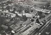 """88 Vosge / CPSM FRANCE 88 """"Charmes, vue aérienne, quartier de la gare"""""""