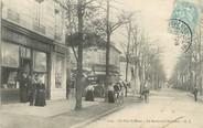 """94 Val De Marne / CPA FRANCE 94 """"Le Parc Saint Maur, le bld National"""""""