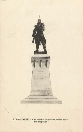 """CPA FRANCE 10 """"Aix en Othe, monument aux morts"""""""