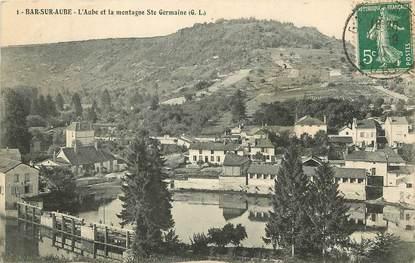 """CPA FRANCE 10 """"Bar sur Aube, l'Aube et la Montagne Sainte Germaine"""""""