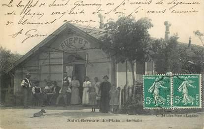 "CPA FRANCE 71 ""Saint Germain du Plain, le Buffet"""