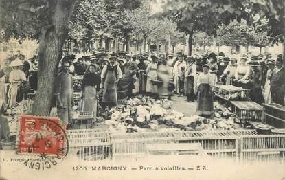 """CPA FRANCE 71 """"Marcigny, Parc à volailles"""""""