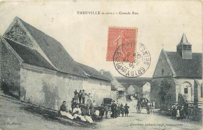 """/ CPA FRANCE 95 """"Theuville, grande rue"""""""