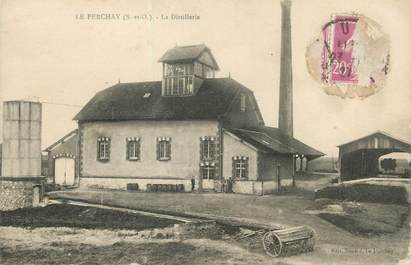 """/ CPA FRANCE 95 """"Le Perchay, la distillerie"""""""