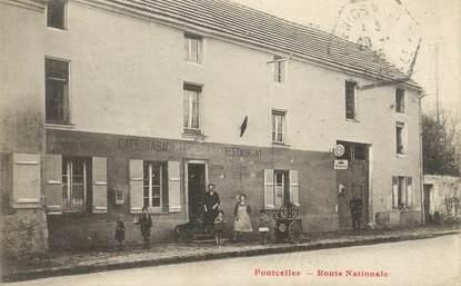 """/ CPA FRANCE 95 """"Pontcelles, route Nationale"""""""