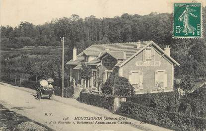 "/ CPA FRANCE 95 ""Montlignon, restaurant Archimbaud Leroux"""