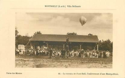"/ CPA FRANCE 95 ""Montsoult, villa Béthanie"""