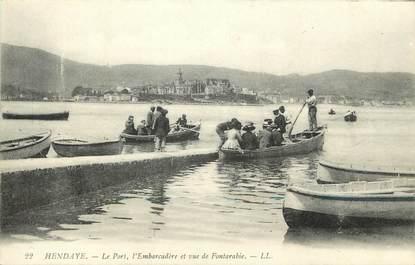 "CPA FRANCE 64 ""Hendaye, Le Port"""