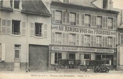 """/ CPA FRANCE 95 """"Cergy, maison des pêcheurs"""""""