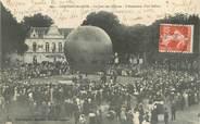 """72 Sarthe CPA FRANCE 72 """"Chateau du Loir, le jour des Courses, l'ascension d'un ballon"""""""