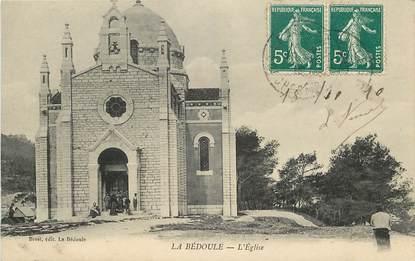 """CPA FRANCE 13 """"La Bédoule, L'Eglise"""""""