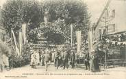 """42 Loire CPA FRANCE 42 """"Charlieu, souvenir de la Fête mutualiste de 1904, entrée du bld Thiers"""""""
