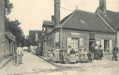 "CPA FRANCE 41 ""Yvoy le Marron, rue de l'Eglise"""