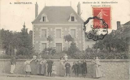 """CPA FRANCE 41 """"Monteaux, Maison de N. Hattevillain"""""""