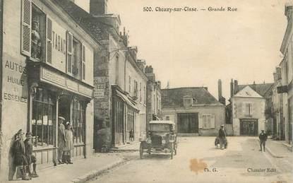 """CPA FRANCE 41 """"Chouzy sur Cisse, la Grande rue"""""""