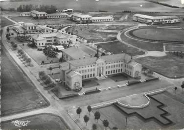 """/ CPSM FRANCE 88 """"Mirecourt, vue aérienne, hôpital psychiatrique de Ravenel"""""""
