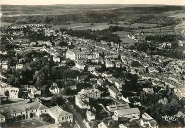 """/ CPSM FRANCE 88 """"Mirecourt, vue panoramique aérienne"""""""