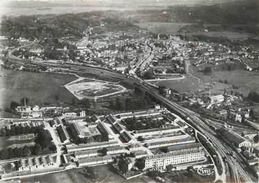 """/ CPSM FRANCE 88 """"Neufchâteau, vue aérienne, quartier Rébeval"""""""