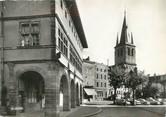"""88 Vosge / CPSM FRANCE 88 """"Rambervillers, place du 30 septembre, hôtel de ville et église"""""""