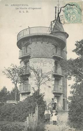 """/ CPA FRANCE 95 """"Argenteuil, le moulin d'Orgemont"""""""