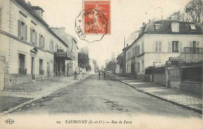 """/ CPA FRANCE 95 """"Eaubonne, rue de Paris"""""""