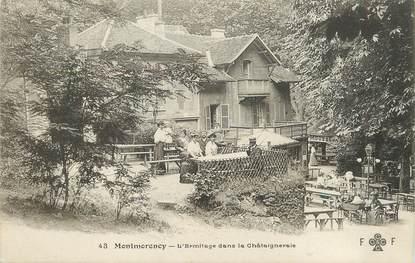 """/ CPA FRANCE 95 """"Montmorency, l'Ermitage dans la Châtaigneraie"""""""
