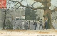 """95 Val D'oise / CPA FRANCE 95 """"Montmorency, l'Etang du château de la chasse"""""""