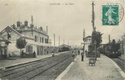 """/ CPA FRANCE 95 """"Sannois, la gare """""""