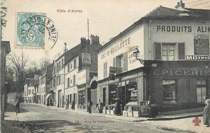 """/ CPA FRANCE 92 """"Ville d'Avray, rue de Versailles"""""""
