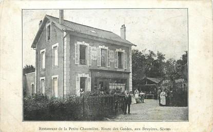 """/ CPA FRANCE 92 """"Sèvres, restaurant de la Petite Chaumière"""""""