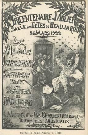 """CPA FRANCE 37 """"Tours, tri centenaire de Molière, 1922"""""""