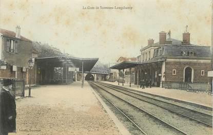 "/ CPA FRANCE 92 ""La gare de Suresnes Longchamp"""