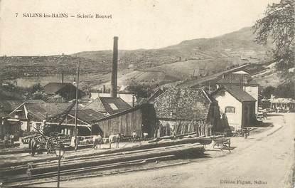 """CPA FRANCE 39 """"Salins les Bains, scierie Bouvet"""""""