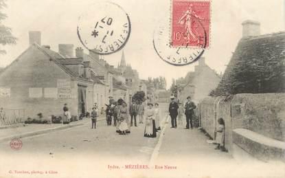 """CPA FRANCE 36 """"Mézières, rue Neuve"""""""