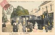 """36 Indre CPA FRANCE 36 """"Issoudun, le tramway, place de la Poterie"""""""