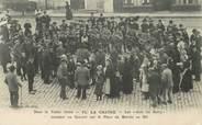 """36 Indre CPA FRANCE 36 """"La Chatre, concert des gars du Berry sur la place du marché au blé"""""""